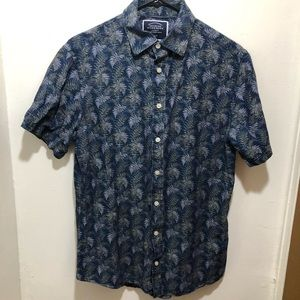 Charles Tyrwhitt s/s cotton linen shirt